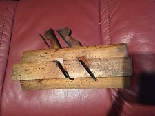 Vintage Antique  Complex Moulding Trim  Wood Plane Glashan