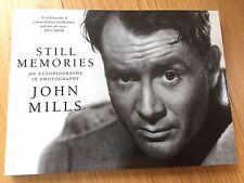 SIGNED Still Memories, an autobiography in photographs, Sir John Mills