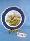 Spode Cabinet Plate - Hunting Scenes Y8070 - Drawing The Dingle - J.F. Herring