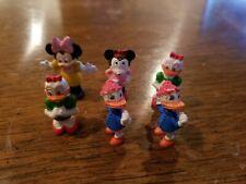 1966 Rubber Disney Figures - Lot of 6