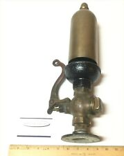 Early Crane 125 Brass Steam Engine Train Whistle Horn W/Rare Large Top Acorn