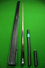 Emperor Series 1 Piece Ash Shaft Ebony Handmade Snooker Cue Set#2T0