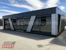 Imbisscontainer 12,00m x 6,00m Container MOdernpavillon