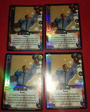UFS Foil/Promo Cards x4 - Street Fighter - Dudley's Low Fierce Punch