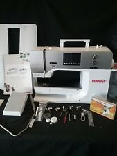 ***BERNINA 750QE (Quilters Edition) Sewing Machine with attachments and BSR