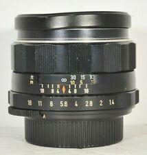 Asahi Pentax 8 Element 50mm f1.4 Super-Takumar Lens for M42 Mount