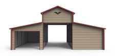 32x21 STEEL Horse Barn, Garage, Cover  INSTALLED -  FREE DELIVERY! (prices vary)