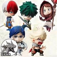 6pcs/set My Hero Academia Todoroki Shoto 5cm Figure Model Toy New In Box