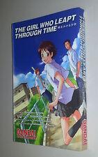 THE GIRL WHO LEAPT THROUGH TIME  (Bandai USA 2009 Manga Adaptation)