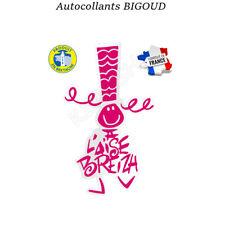 Vrai Autocollant 11,5 cm A L'aise Breizh Décoration voiture fabriqué en Bretagne
