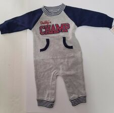 "Carters just one you - ""Daddy's CHAMP"" Bodysuit - size 3 mths  NEW!!"