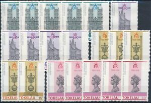 [P5549] Tokelau 1978 good sets (5) of stamps very fine MNH