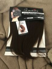 """Silky Clip In Hair Extensions100% Remy Real Human Hair Full Head 10"""" COLOR 4#"""
