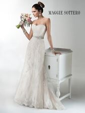Maggie Sottero Wedding Dress JOELLE Size 14 Ivory NEW!!