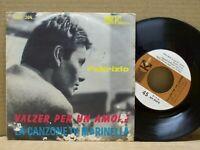 Fabrizio De André - Valzer Per Un Amore - 45 RPM - KARIM 1964