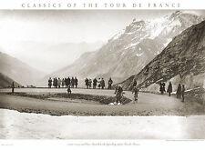 Tour de France BOTTECCHIA ON THE GALIBIER Classic 1924 Cycling POSTER Print
