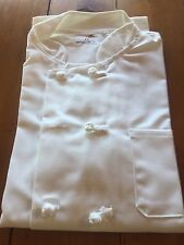 Chef Coats In White Size 42 & 44 Long Sleeve