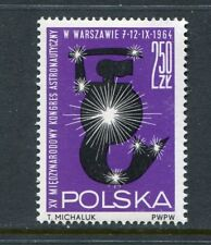 Poland Scott 1266 Astronautical Conference in Warsaw 1964 NH