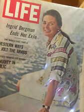 LIFE MAGAZINE--------OCTOBER 13TH, 1967---  ISSUE ----INGRID BERGMAN COVER