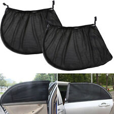 2pcs Car Auto Rear Side Window Mesh Sun Visor Shade Cover Shield UV Protector