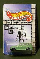 "Custom HotWheels walter's wagon and package of  ""Movie Metal""  from BREAKING BAD"