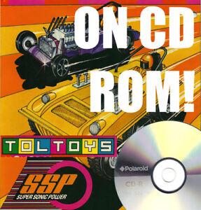 TOLTOYS AUSTRALIA TOY CATALOGS ON CD-ROM! KENNER SSP BUG CATCHER 007 BOND KO GUN