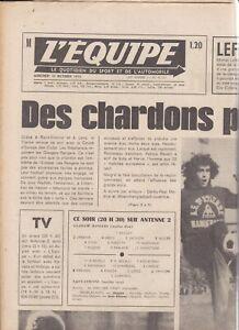 1975/76 EUROPEAN CUP Saint-Étienne v Glasgow Rangers (RARE L'Equipe Issue)
