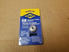 "QEP 7/8"" 22mm .87"" Premium Tile Cutting Scoring Wheel and Screw New 21123Q"