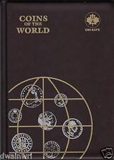 """10 Unisafe Coin Folders""""Coins of the World Album Folder"""" Holds 142 Coins $59.99"""