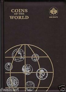 """TEN (10) """"Coins of the World"""" Folders -Each holds 142 Coins $69.95 FREE SHIPPING"""