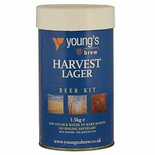 Youngs Harvest Lager Kit 40 pints Beer Kit  Free Delivery UK