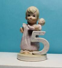 Lefton China Collectables The Cristopher Collection  Five Year Old Girl #2