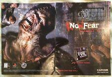 "Resident Evil 3 Nemesis Poster Ad Print 10"" X 15"" Capcom Survival Horror PS1"