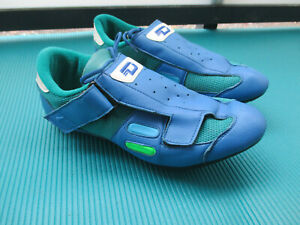 Diamant Vintage Rennrad Schuhe Gr. 44 Italy Cycling Shoes Bike f. Shimano 90er