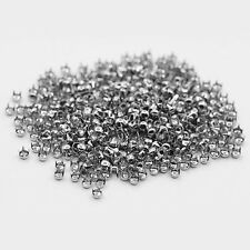 500 Pcs Punk Leathercraft DIY Round Cone Rivets Studs Spots 4mm Bag Decor Worthy