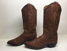 WOMENS DAN POST COWBOY BROWN BOOTS SIZE 7 M