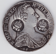AUSTRIA,MARIA THERESA ,COUNTER MARK ,CIRCULATED IN ,PHILIPPINE ,Y11