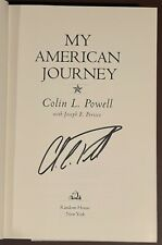 Colin Powell Signed My American Journey