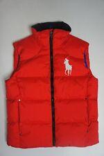 Mens Polo Ralph Lauren Down Vest Red  - Size M - New
