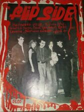 fLiPSiDE ISSUE #27 PUNK 1981 HARDCORE halloween FANZINE 45 grave killing joke