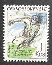 Czechoslovakia (1991) European Table Tennis Championship / Sports - Mint (MNH)