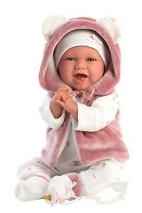 Spanish Laughing Baby Girl Doll 42cm include gift box