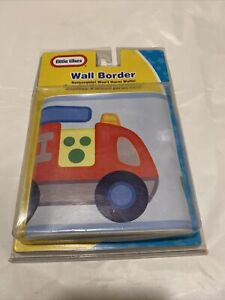 """Little Tikes vehicle removeable wall border 5""""x15', New"""