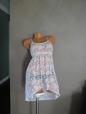 victoria secret BEACH COVER UP SWIM CROCHET SEXXXY!!! SIZE:XS