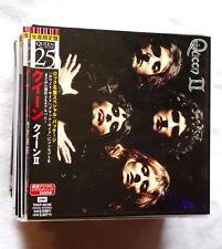 QUEEN II 2nd album LIMITED JAPAN MINI LP CD ed. TOSHIBA EMI 1998 Freddie Mercury