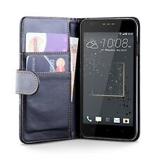 PU Leather Wallet Case Cover HTC Desire 825 + Screen Protector