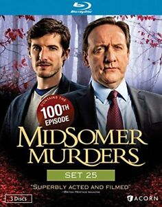 MIDSOMER MURDERS SET 25 NEW BLURAY