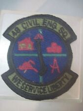 48TH TFW TAC FIGHTER WING 48TH CIVIL ENGINEERING  SQUADRON SUBDUED PATCH