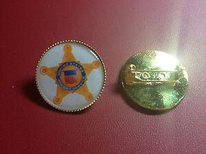 U.S.SECRET SERVICE  Gold Plated PIN Badge