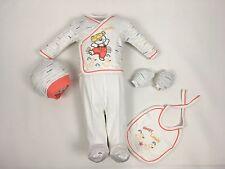 ♥ Neu ♥ Babykleidung  5-teilig  Erstausstattung,  Gr. 0-4 Monate (56/62) 